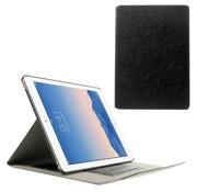 GSMWise Apple iPad Air 2 - PU Lederen Book Case Snap On Lychee met Kaarthouder - Zwart
