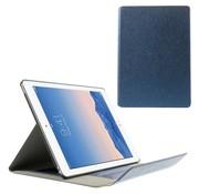 GSMWise Apple iPad Air 2 - PU Lederen Book Case Snap On Lychee met Kaarthouder - Donker Blauw