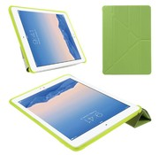 GSMWise Apple iPad Air 2 - PU lederen Tablet Case Origami Stand - Groen