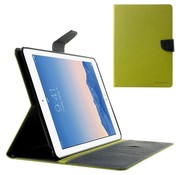 GSMWise Apple iPad Air 2 - PU lederen Case met Kaarthouder Grain - Groen