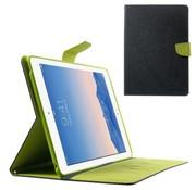 GSMWise Apple iPad Air 2 - PU lederen Case met Kaarthouder Grain - Blauw