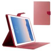 GSMWise Apple iPad Air 2 - PU lederen Case met Kaarthouder Grain - Rose