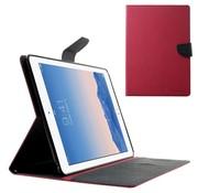 GSMWise Apple iPad Air 2 - PU lederen Case met Kaarthouder Grain - Roze