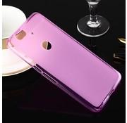 GSMWise Huawei Nexus 6P - Zachte Frosted TPU Hoesje Anti-slip Back Case - Mat Roze