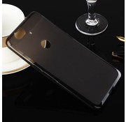 GSMWise Huawei Nexus 6P - Zachte Frosted TPU Hoesje Anti-slip Back Case - Mat Zwart