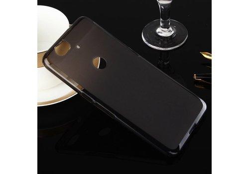 Huawei Nexus 6P - Zachte Frosted TPU Hoesje Anti-slip Back Case - Mat Zwart