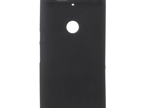 GSMWise Huawei Nexus 6P Hoesje - Zachte Frosted TPU Anti-slip Back Case - Mat Zwart