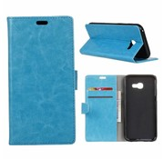 GSMWise Samsung Galaxy Xcover 4 - PU Lederen Portemonnee Hoesje met Kaarthouder - Blauw