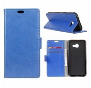 GSMWise Samsung Galaxy Xcover 4 - PU Lederen TPU Portemonnee Hoesje met Kaarthouder - Blauw