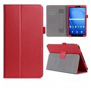 GSMWise Samsung Galaxy Tab A 10.1 (2016) - PU Lederen Tablet Case met kaarthouder - Rood