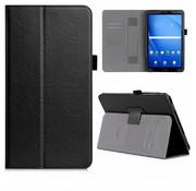 GSMWise Samsung Galaxy Tab A 10.1 (2016) - PU Lederen Tablet Case met kaarthouder - Zwart