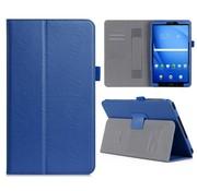 GSMWise Samsung Galaxy Tab A 10.1 (2016) - PU Lederen Tablet Case met kaarthouder - Blauw