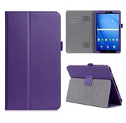GSMWise Samsung Galaxy Tab A 10.1 (2016) - PU Lederen Tablet Case met kaarthouder - Paars