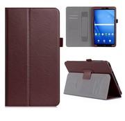 GSMWise Samsung Galaxy Tab A 10.1 (2016) - PU Lederen Tablet Case met kaarthouder - Bruin