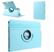GSMWise Samsung Galaxy Tab S3 9.7 - 360 graden Draaibare Beschermhoes Cover Tablethoes met Multi-stand - Licht Blauw