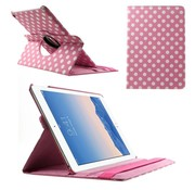 GSMWise Apple iPad Air 2 - 360 graden Draaibare Beschermhoes Cover Tablethoes met Multi-stand - Roze