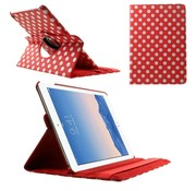 GSMWise Apple iPad Air 2 - 360 graden Draaibare Beschermhoes Cover Tablethoes met Multi-stand - Rood