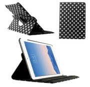 GSMWise Apple iPad Air 2 - 360 graden Draaibare Beschermhoes Cover Tablethoes met Multi-stand - Zwart