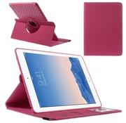 GSMWise Apple iPad Air 2 - 360 graden Draaibare Beschermhoes Cover Tablethoes met Kaarthouder - Roze