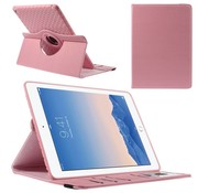 GSMWise Apple iPad Air 2 - 360 graden Draaibare Beschermhoes Cover Tablethoes met Kaarthouder - Rose