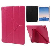 GSMWise Apple iPad Air 2 - Origami Stand PU lederen Tablet Case - Rose