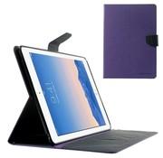 GSMWise Apple iPad Air 2 - PU lederen Case met Kaarthouder Grain - Paars