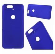 GSMWise Huawei Nexus 6P - Harde Back Case Anti-fingerprint Hoesje - Blauw