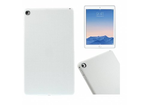 Apple iPad Air 2 - Zachte TPU Back Case - Wit