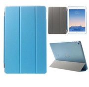 GSMWise Apple iPad Air 2 - PU Lederen Case Flip Cover Tri-fold Stand - Blauw