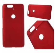 GSMWise Huawei Nexus 6P - Harde Back Case Anti-fingerprint Hoesje - Rood