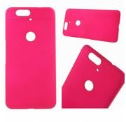 GSMWise Huawei Nexus 6P - Harde Back Case Anti-fingerprint Hoesje - Magenta Hot Pink