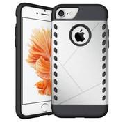 GSMWise Apple iPhone 7 - Stevig Beschermhoesje Hardcase Back Cover Shockproof - Zilver