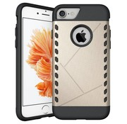 GSMWise Apple iPhone 7 - Stevig Beschermhoesje Hardcase Back Cover Shockproof - Goud