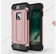 GSMWise Apple iPhone 7 - Stevig Hybrid Beschermhoesje Back Case Shockproof - Rose