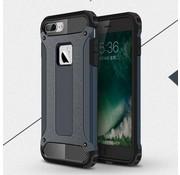 GSMWise Apple iPhone 7 - Stevig Hybrid Beschermhoesje Back Case Shockproof - Donker Blauw