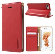 GSMWise Apple iPhone 7 / 8 - Portemonnee Hoesje PU Lederen Case - Rood