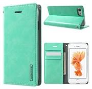 GSMWise Apple iPhone 7 / 8 - Portemonnee Hoesje PU Lederen Case - Cyaan Turquoise