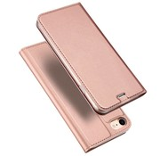 GSMWise Apple iPhone 7 / 8 - PU Lederen Flip Hoesje met Kaarthouder - Rose / Gold