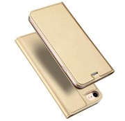 GSMWise Apple iPhone 7 / 8 - PU Lederen Flip Hoesje met Kaarthouder - Goud