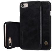 GSMWise Apple iPhone 7 / 8 - PU Lederen Flip Case met Kaarthouder - Zwart