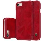 GSMWise Apple iPhone 7 / 8 - PU Lederen Flip Case met Kaarthouder - Rood