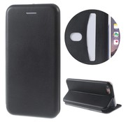 GSMWise Apple iPhone 7 / 8 - PU Lederen Shell Cover met Kaarthouder - Zwart