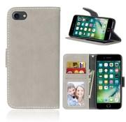 GSMWise Apple iPhone 7 / 8 - PU Lederen Retro style Portemonnee Hoesje - Beige