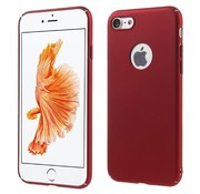 GSMWise Apple iPhone 7 - Rubberen Hard PC Back Cover - Rood