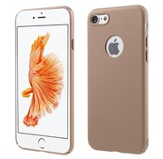GSMWise Apple iPhone 7 - Rubberen Hard PC Back Cover - Rose / Goud