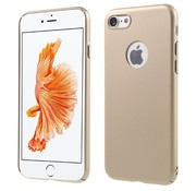 GSMWise Apple iPhone 7 - Rubberen Hard PC Back Cover - Goud