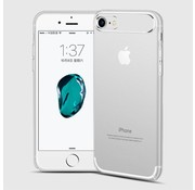 GSMWise Apple iPhone 7 / 8 - Dunne Helderde Plastic Back Case - Zilver