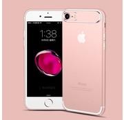 GSMWise Apple iPhone 7 / 8 - Dunne Helderde Plastic Back Case - Roze