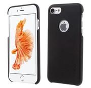 GSMWise Apple iPhone 7 - PU Lederen Bedekt PC Back Case - Zwart