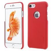 GSMWise Apple iPhone 7 - PU Lederen Bedekt PC Back Case - Rood